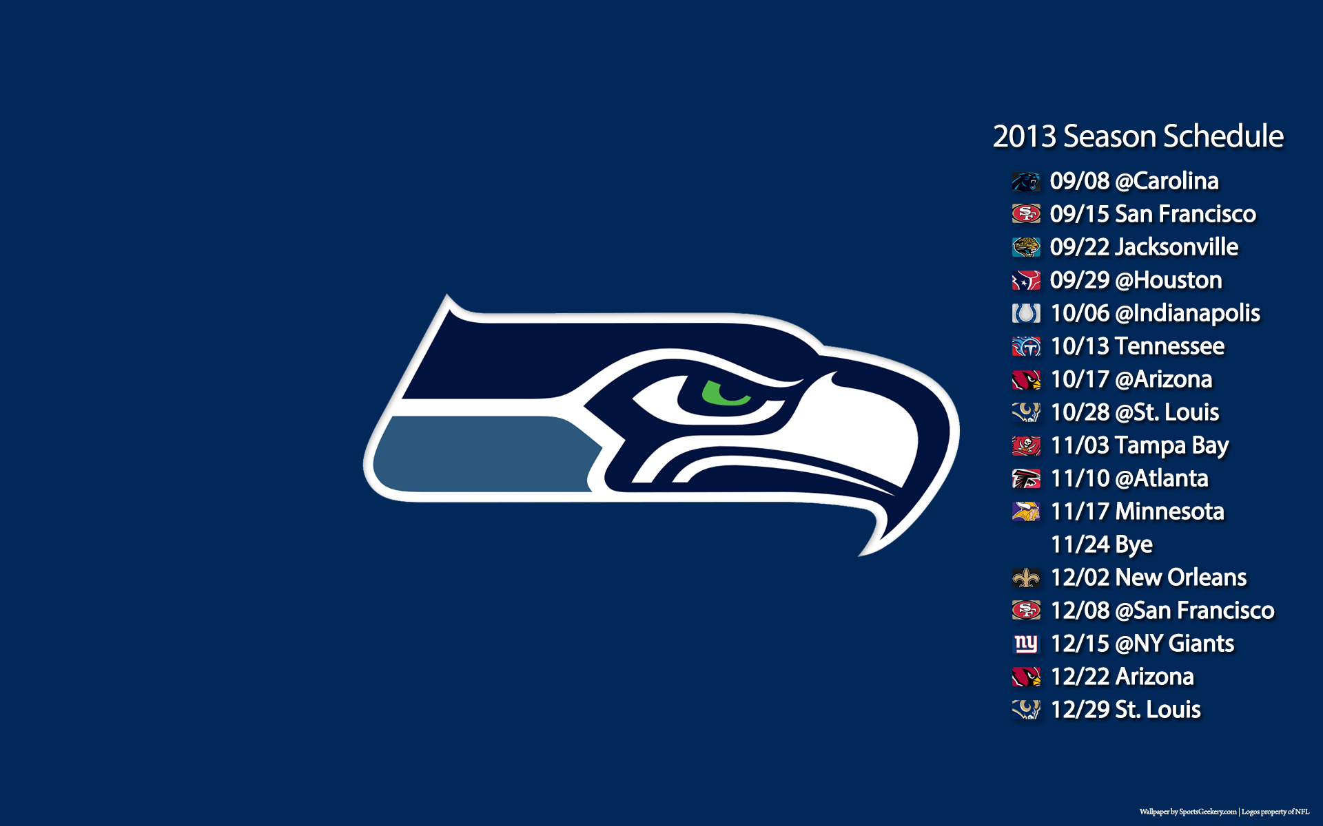 2013 seattle seahawks nfl football poster posters logo