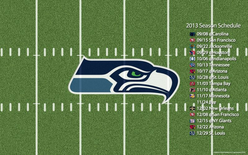2013 Seattle Seahawks nfl football poster posters wallpaper