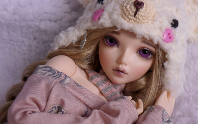 doll toy dolls toys bokeh mood girl girls face eyes wallpaper