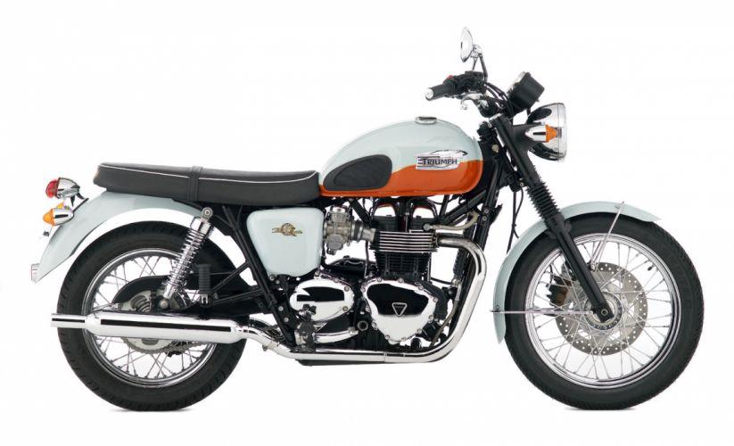 2009 Triumph Bonneville T100 50th j wallpaper