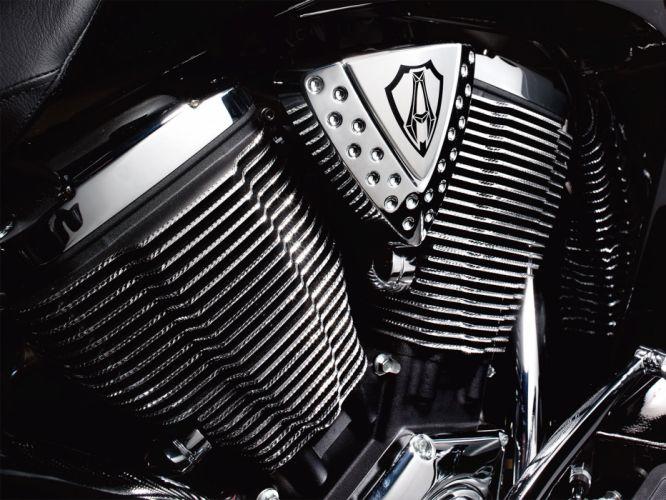 2010 Victory Cory Ness Jackpot engine engines wallpaper