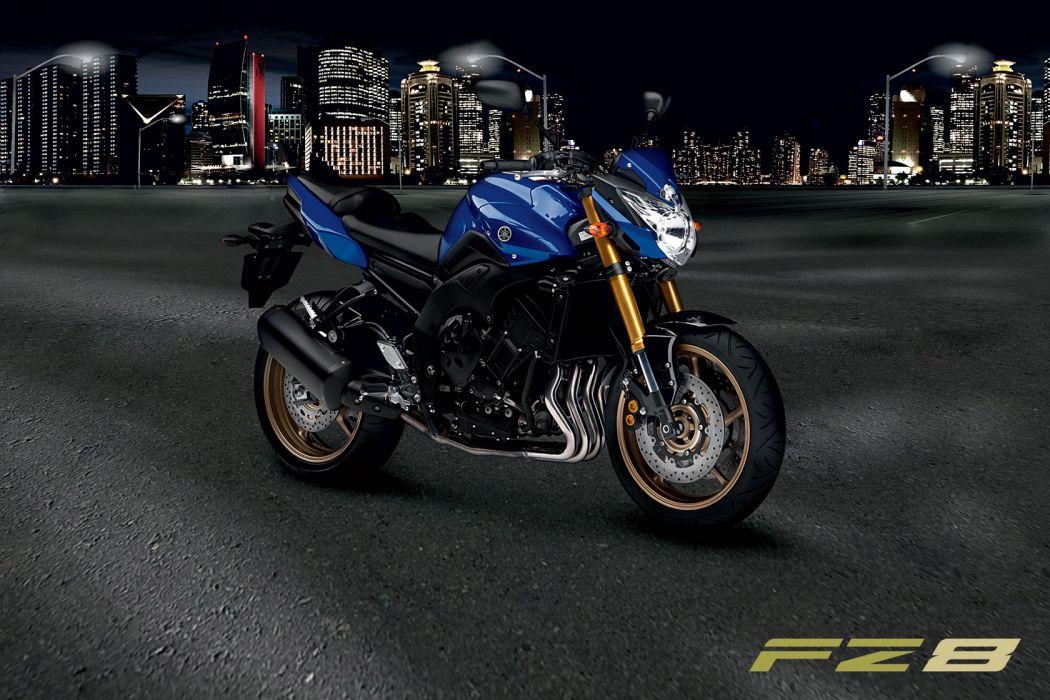 2010 Yamaha FZ8 poster posters wallpaper