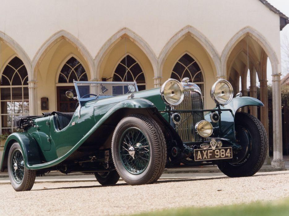 1934 Lagonda M45 Tourer retro      g wallpaper