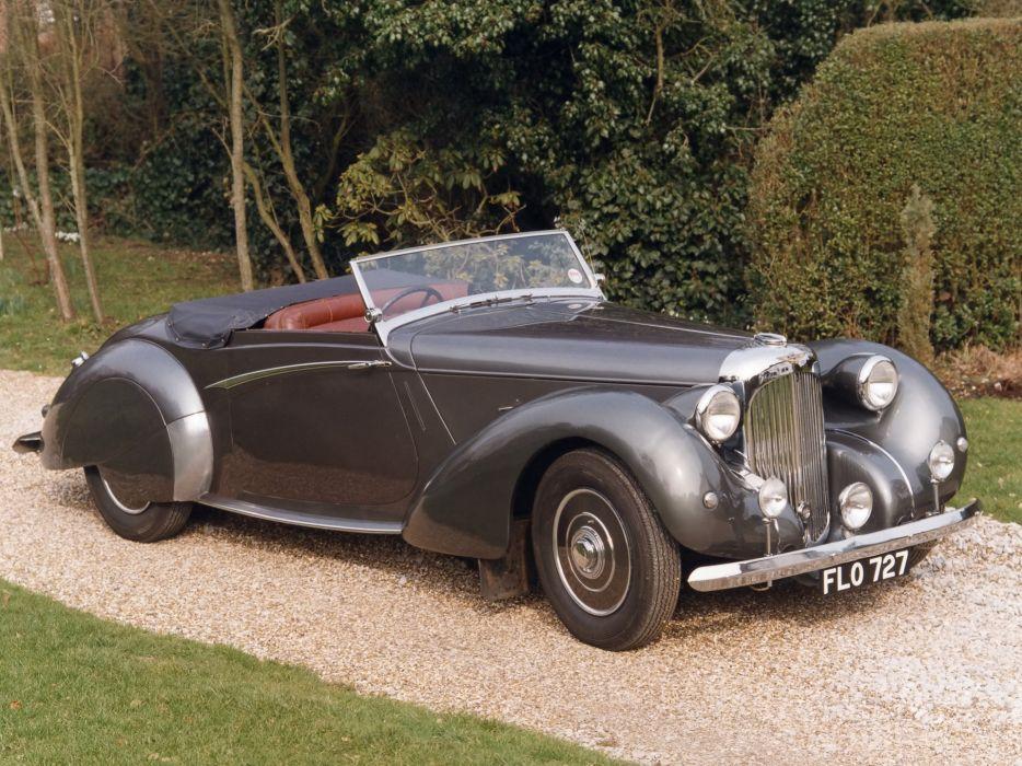 1939 Lagonda V12 Rapide retro    g wallpaper