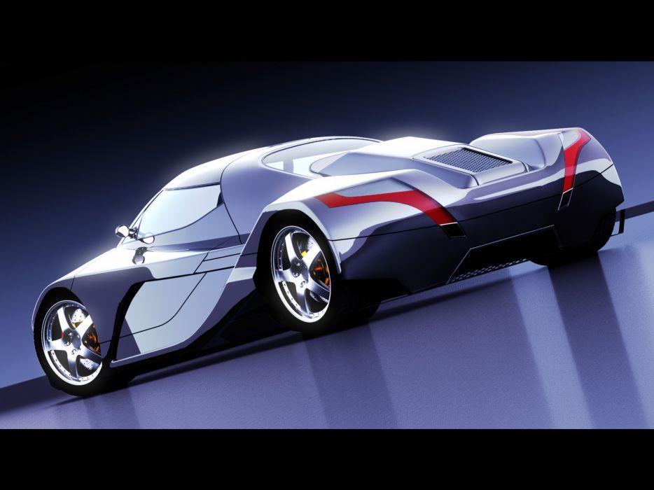 2006 I2B Concept WildCat concept supercar supercars      g wallpaper