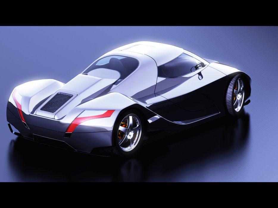 2006 I2B Concept WildCat concept supercar supercars wallpaper