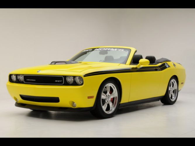 2009 426 Hemi Dodge Challenger Convertible muscle j wallpaper