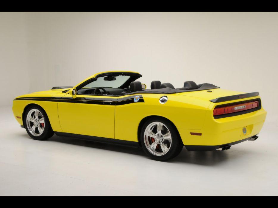 2009 426 Hemi Dodge Challenger Convertible muscle   f wallpaper