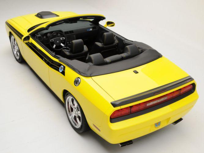 2009 426 Hemi Dodge Challenger Convertible muscle interior wallpaper