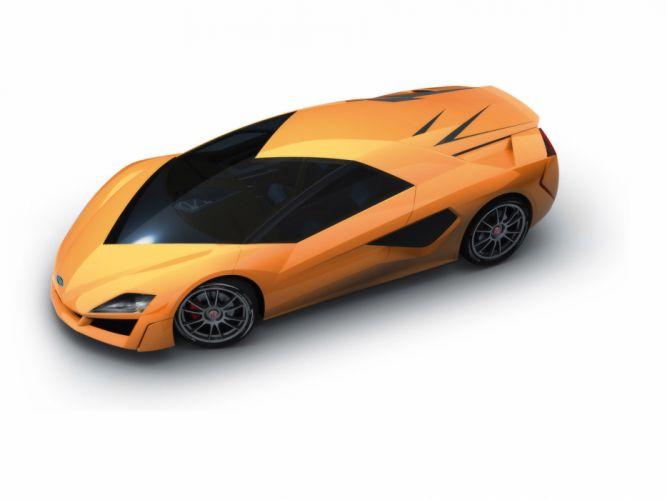 2009 Italdesign Giugiaro Frazer-Nash Namir Concept supercar supercars gg wallpaper