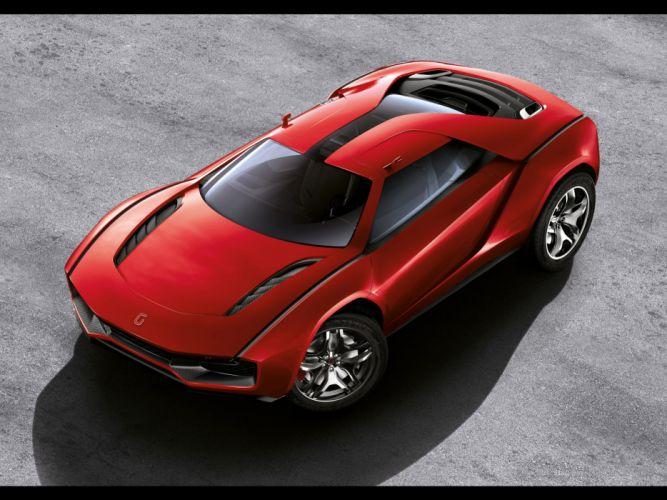 2013 Italdesign Giugiaro Parcour Concept supercar supercars g wallpaper