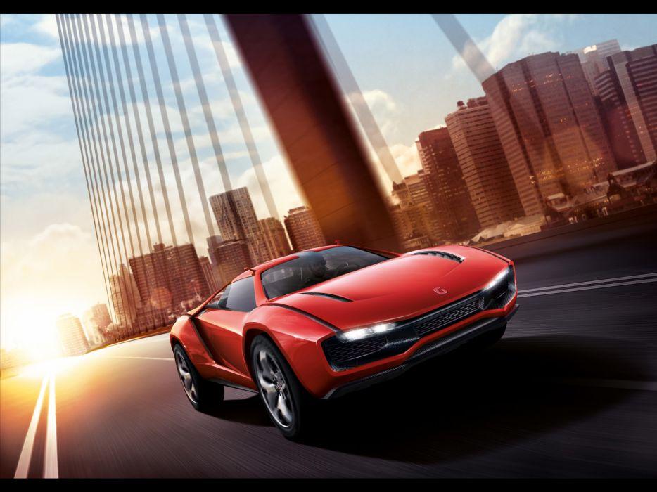 2013 Italdesign Giugiaro Parcour Concept supercar supercars  f wallpaper