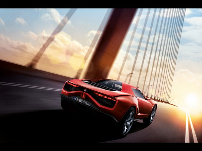 2013 Italdesign Giugiaro Parcour Concept supercar supercars t wallpaper