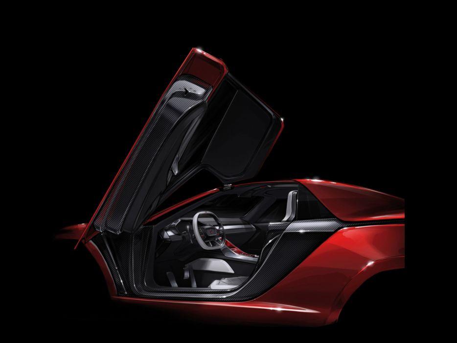 2013 Italdesign Giugiaro Parcour Roadster Concept supercar supercars interior wallpaper