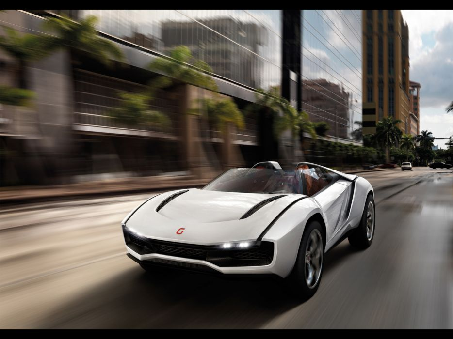 2013 Italdesign Giugiaro Parcour Roadster Concept supercar supercars wallpaper