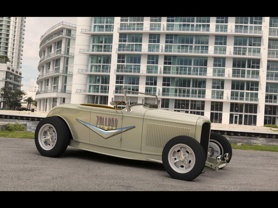1932 Ford Roadster Zolland retro custom hot rod rods     g wallpaper