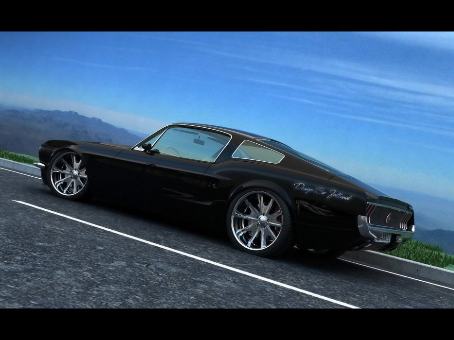 1968 Ford Mustang Fastback Vizualtech Classic Muscle Hot