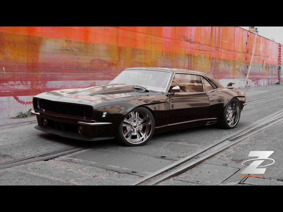 1968 Zolland Chevrolet Camaro Custom hot rod rods classic muscle lowrider lowriders     g wallpaper