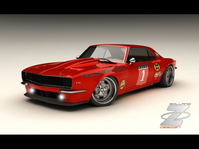 1968 Zolland Chevrolet Camaro Custom hot rod rods classic muscle lowrider lowriders g wallpaper