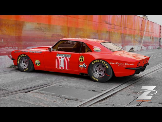1968 Zolland Chevrolet Camaro Custom hot rod rods classic muscle lowrider lowriders gd wallpaper