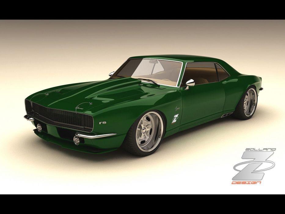 1968 Zolland Chevrolet Camaro Custom hot rod rods classic muscle lowrider lowriders wallpaper