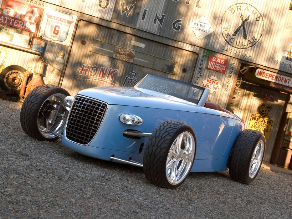 2007 volvo caresto v8 speedster concept hot rod rods supercar