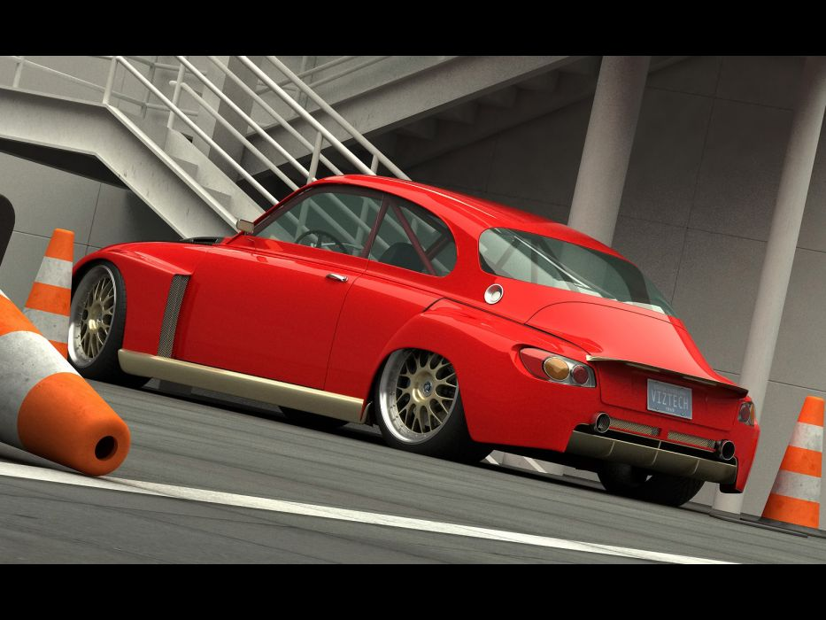 2010 Saab Custom 1968 Vizualtech tuning custom concept supercar supercars   f wallpaper