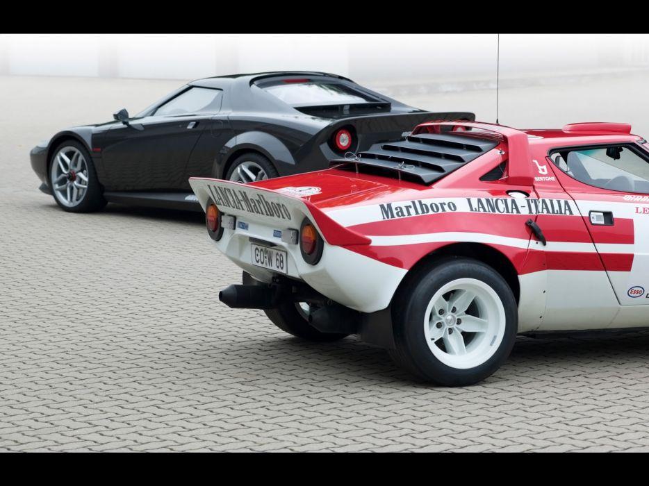 2011 Lancia Stratos supercar supercars race racing         d wallpaper