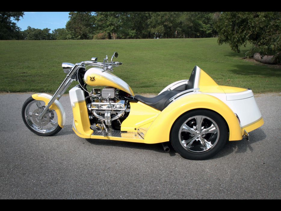 2011 V8-Choppers SP-Series Touring Trike muscle v-8 chopper choppers hot rod rods bike engine engines      g wallpaper