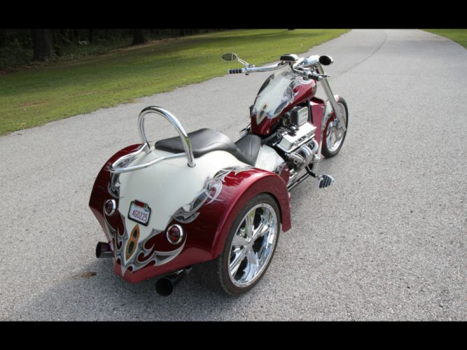 2011 V8-Choppers SP-Series Trike muscle v-8 chopper choppers hot rod rods bike engine engines g wallpaper