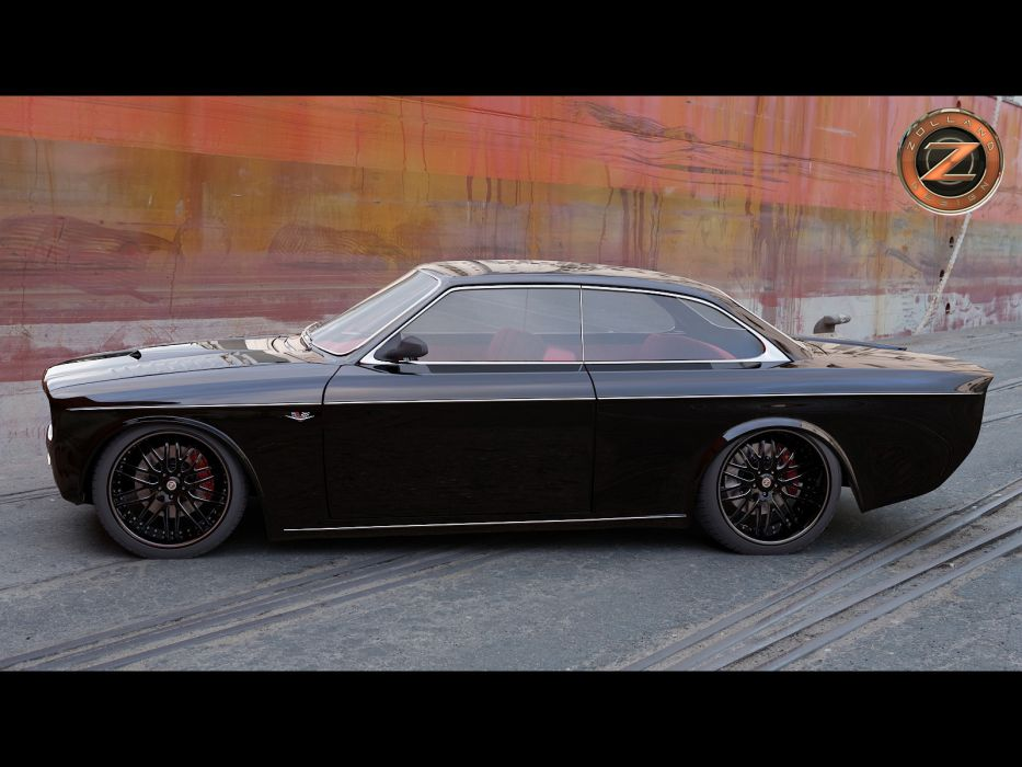 2011 Volvo 142 Custom Zolland tuning custom supercar supercars lowrider lowriders      gd wallpaper