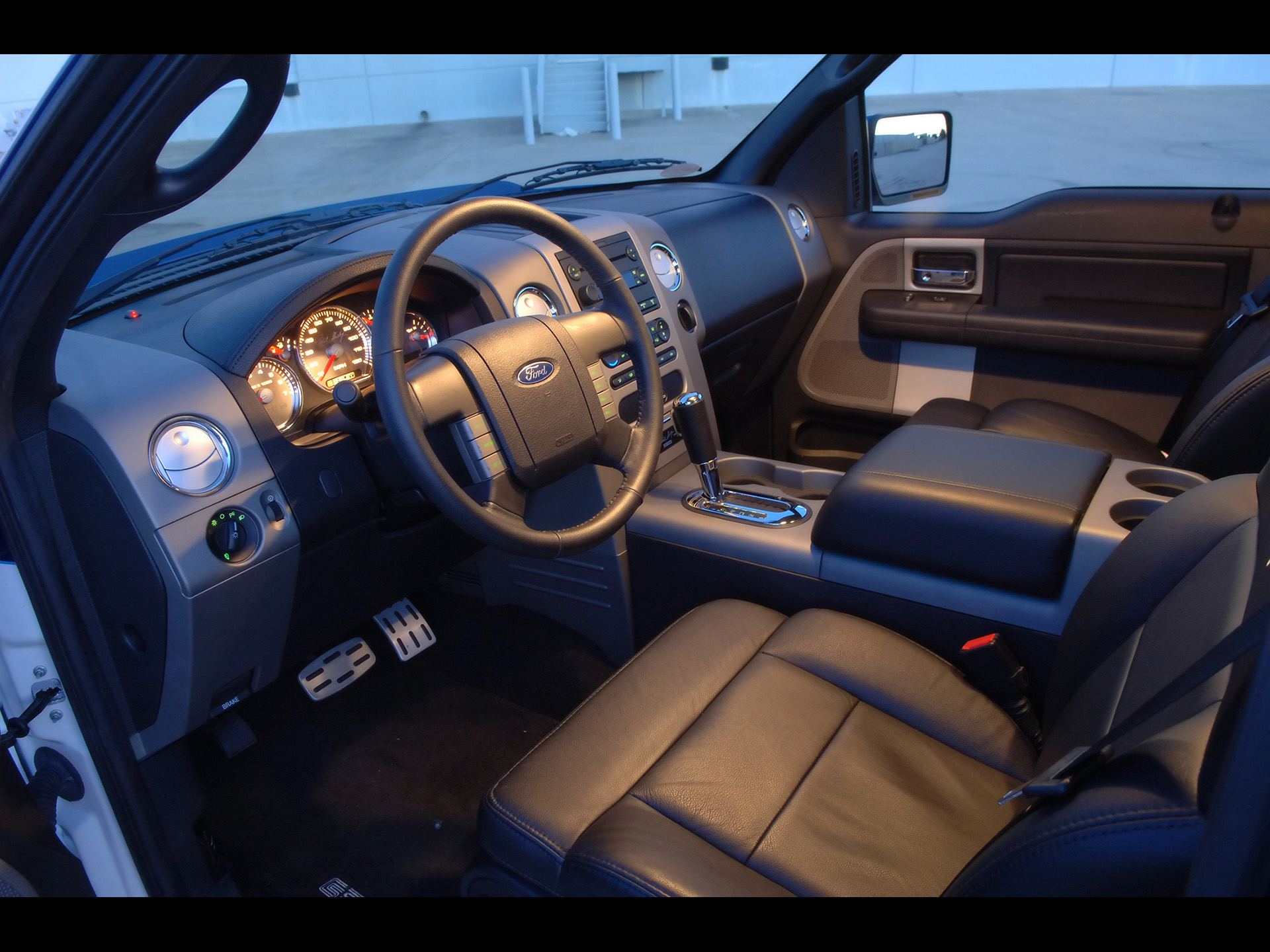 2006 Shelby GT 150 Ford F150 F 150 Truck Muscle Tuning Interior Wallpaper |  1920x1440 | 111851 | WallpaperUP