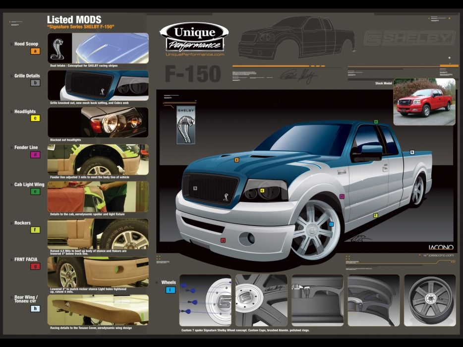 2006 Shelby GT-150 Ford f150 f-150 truck muscle tuning poster posters wallpaper