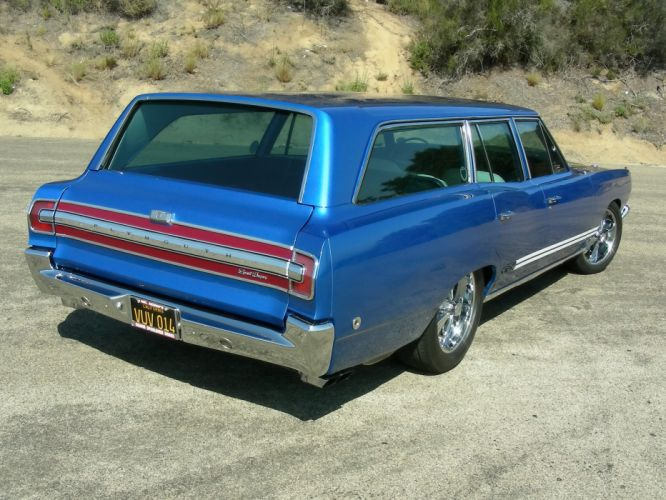 1968 Plymouth GTX 440 Six-Pack stationwagon classic muscle tuning hot rod rods g wallpaper