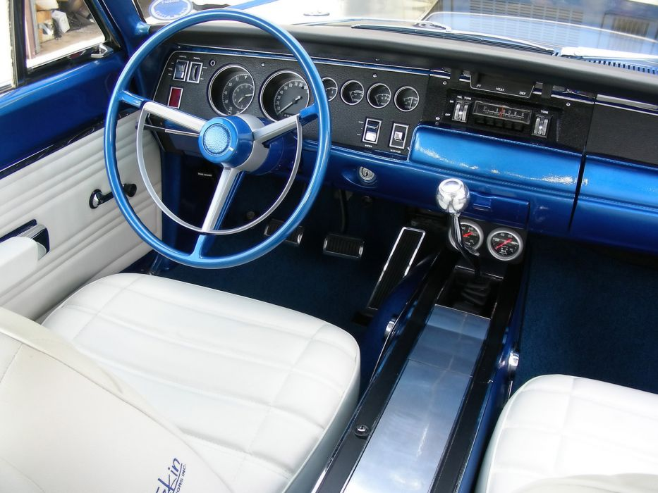1968 Plymouth GTX 440 Six-Pack stationwagon classic muscle tuning hot rod rods interior        f wallpaper