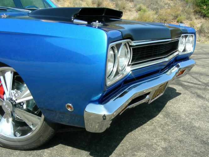1968 Plymouth GTX 440 Six-Pack stationwagon classic muscle tuning hot rod rods wheel wheels g wallpaper
