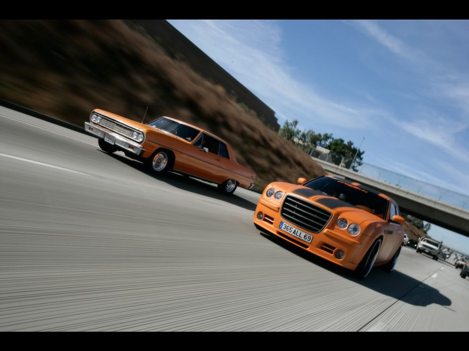2006 Parotech Chrysler Norev 300C tuning luxury classic muscle hot rod rods wallpaper