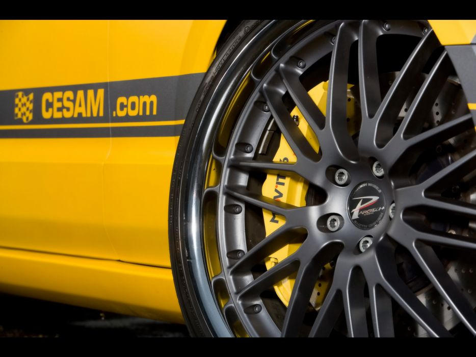 2007 Cesam Ford Mustang tuning muscle wheel wheels wallpaper