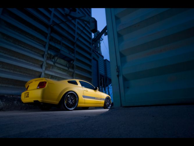 2007 Cesam Ford Mustang tuning muscle g wallpaper