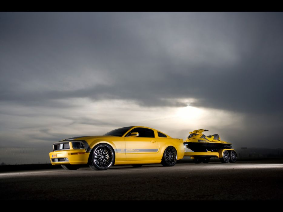 2007 Cesam Ford Mustang tuning muscle f wallpaper