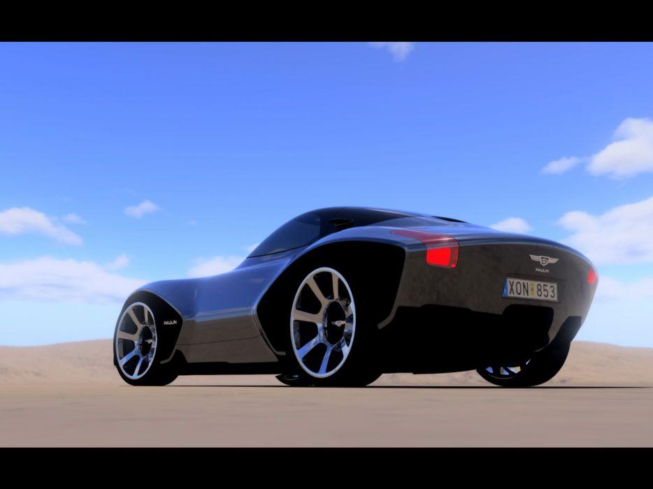 2007 Paulin VR Concept supercar supercars  h wallpaper