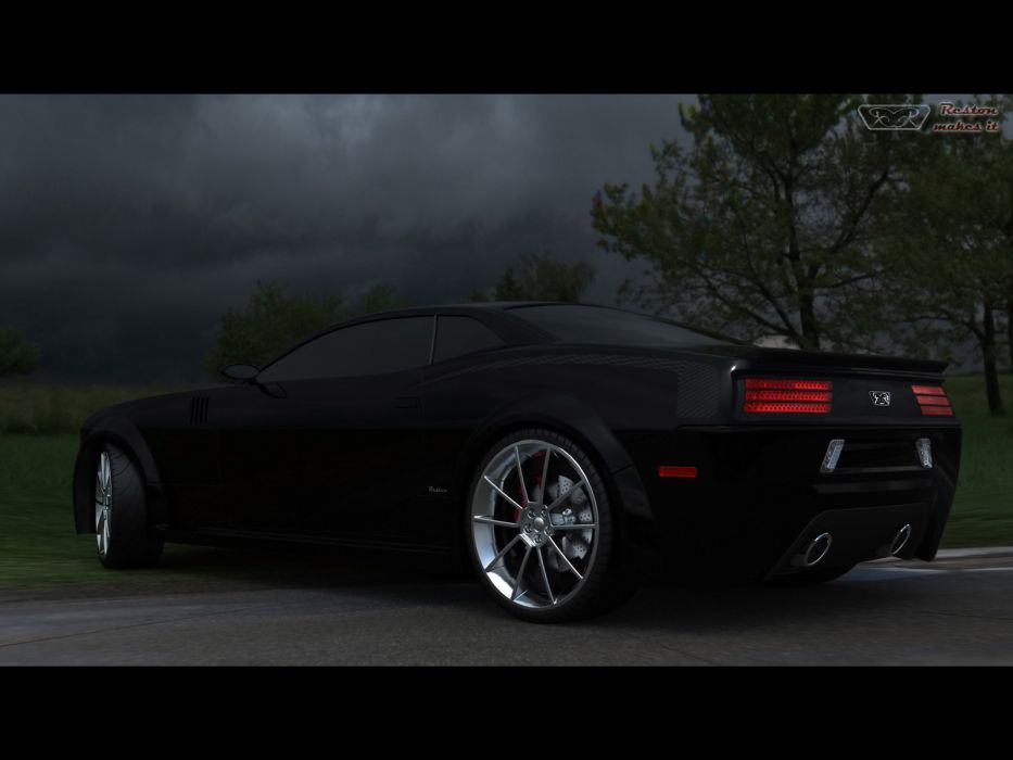 2008 Plymouth Cuda Concept mopar muscle tuning hot rod rods    f wallpaper