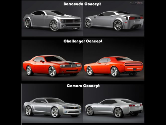 2008 Plymouth Cuda Concept mopar muscle tuning hot rod rods challenger wallpaper