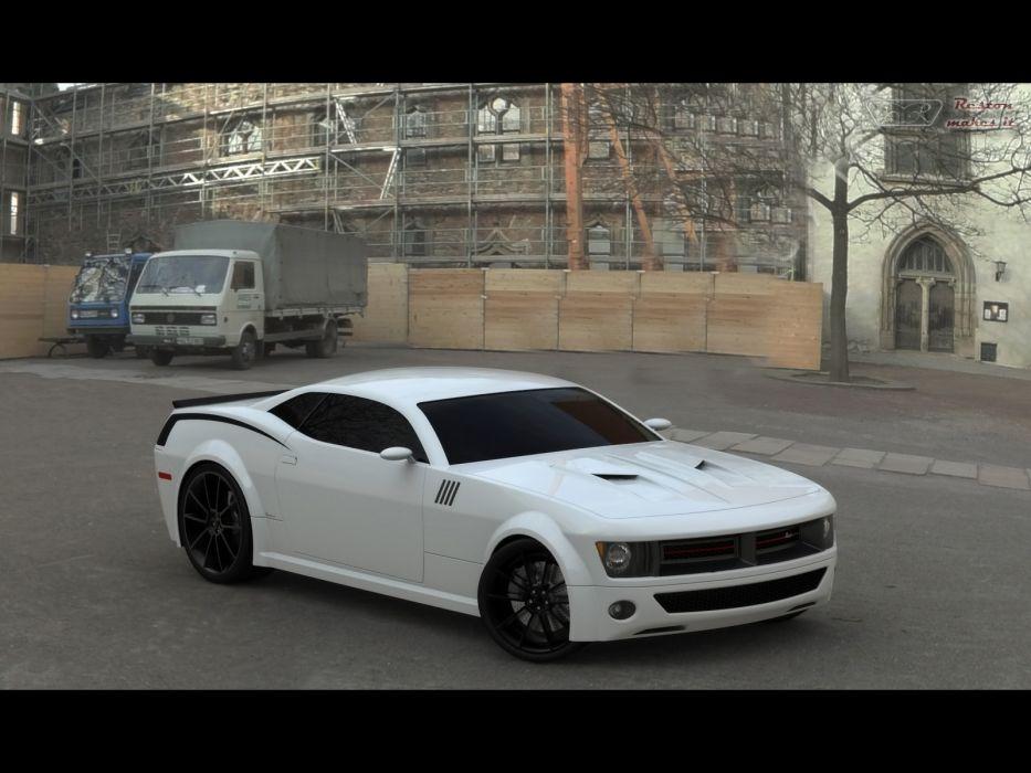 2008 Plymouth Cuda Concept mopar muscle tuning hot rod rods wallpaper