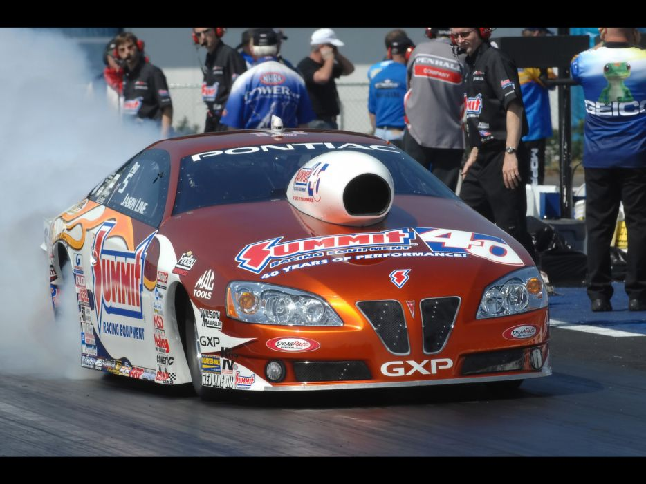 2008 Pontiac GXP NHRA Pro Stock drag racing race burnout smoke        e wallpaper