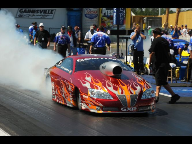 2008 Pontiac GXP NHRA Pro Stock drag racing race burnout smoke f wallpaper