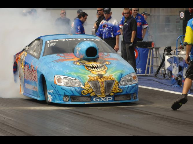 2008 Pontiac GXP NHRA Pro Stock drag racing race burnout smoke g wallpaper