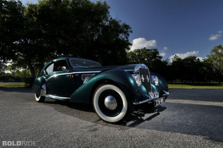 1938 Delage D8-120 Aerosport Coupe retro luxury wallpaper