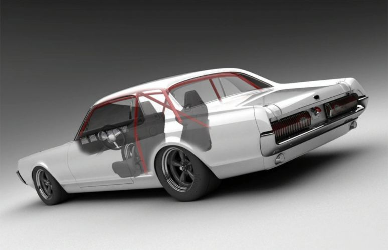 1968 Mercury Cougar muscle classic hot rod rods g wallpaper