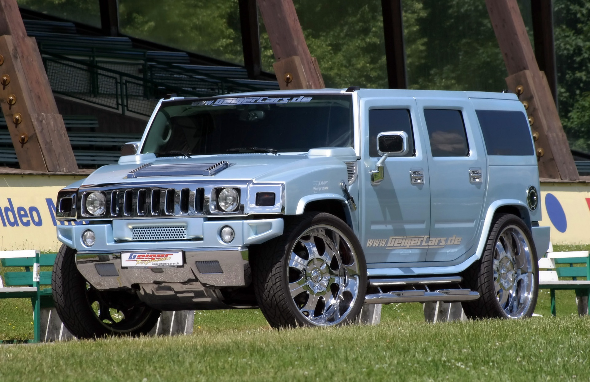 2005 hummer h2 kompressor tuning offroad 4x4 wallpaper. Black Bedroom Furniture Sets. Home Design Ideas